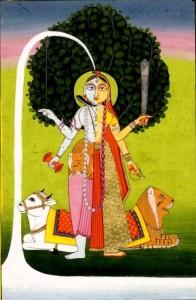 Hindu God Ardhanarishvara Shiva